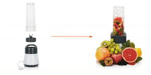 vaisių kokteilių plakiklis su logotipu - multidora
